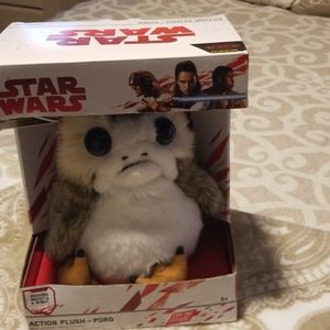 Star  wars action plush-porg